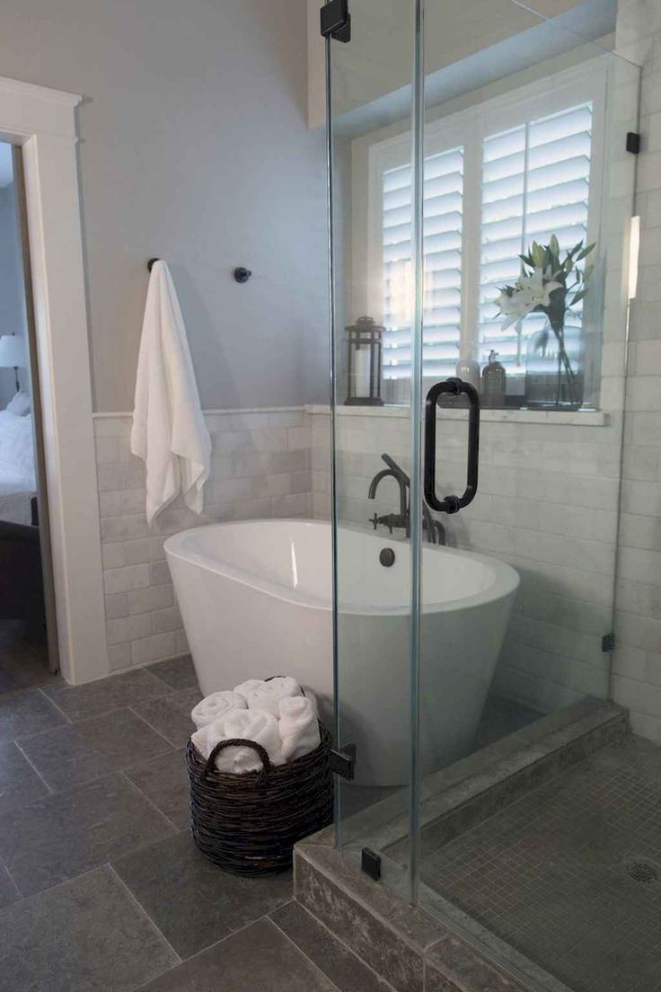 Cool small bathroom shower remodel ideas (40
