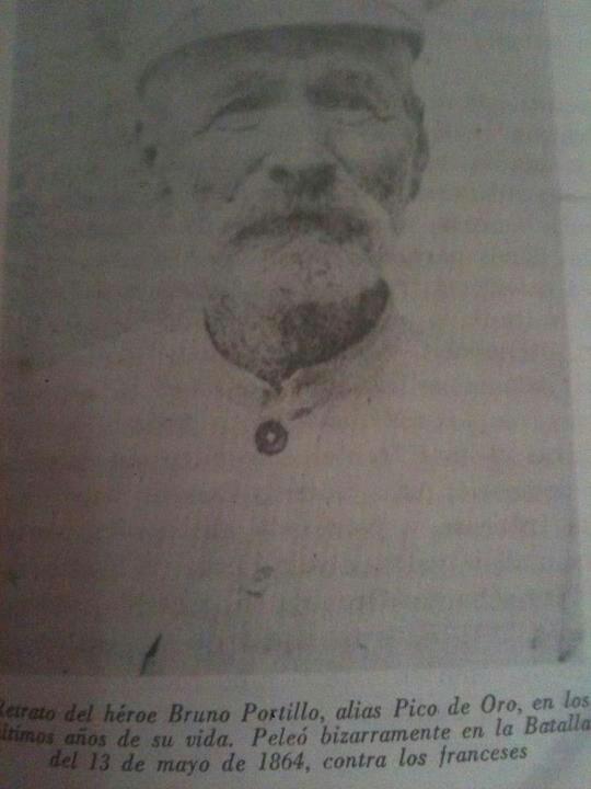 Bruno Portillo, alias Pico de Oro.