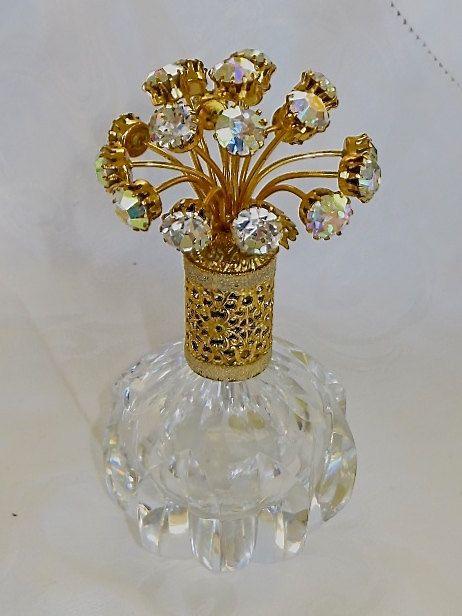 images of irice perfume bottles | IRice Perfume Bottle Aurora Borealis Jewels