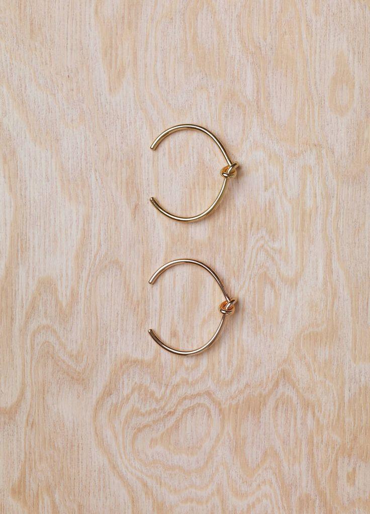 Céline Knot Extra Thin Bracelets