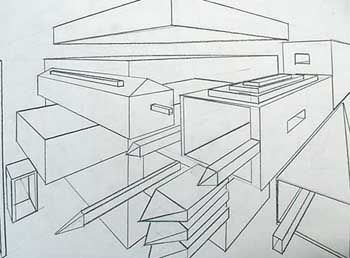 Best Perspectiva Images On Pinterest Perspective Drawing Art
