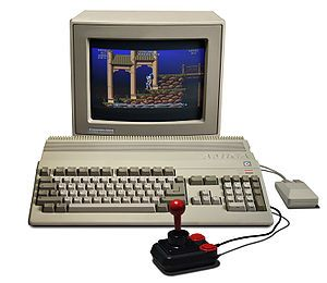 The Amiga 500 - first Amiga I ever owned.  I was incredibly jealous of all my friends who owned one back in the day before I finally got mine - it was years ahead of its time!