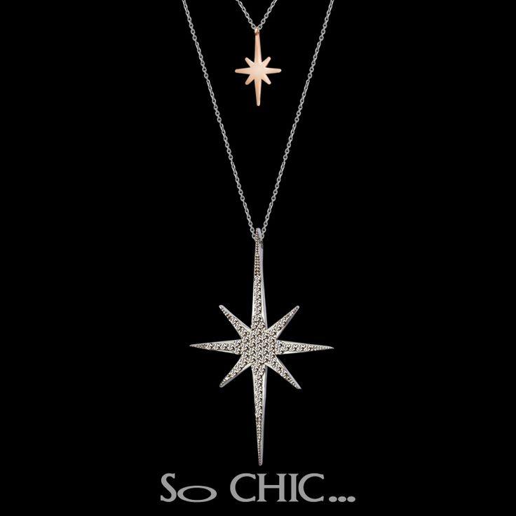 #sochic #annelergunu #mothersday #gift #hediye #necklace #yıldız #star #gümüş #silver #eternal #mother #anne