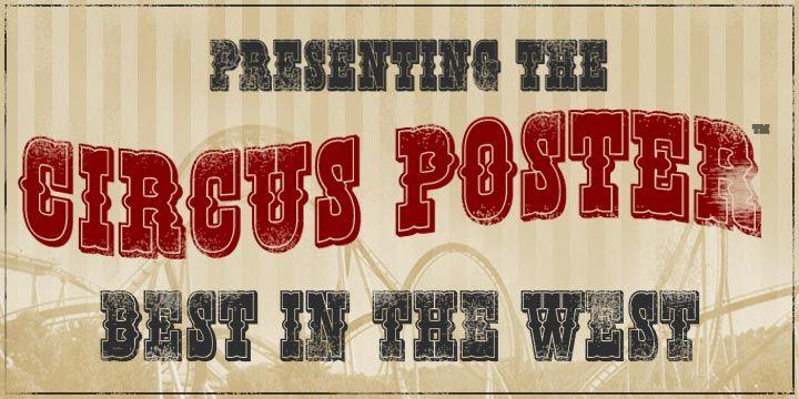 17 best ideas about circus font on pinterest fancy