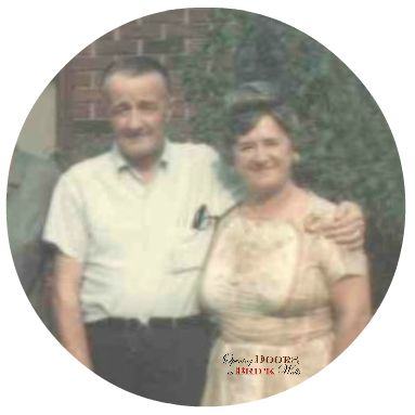 Old Photographs Saved From Trash Can ~ #90 Charlie LILLIE and his Mrs.#genealogy #oldphotos