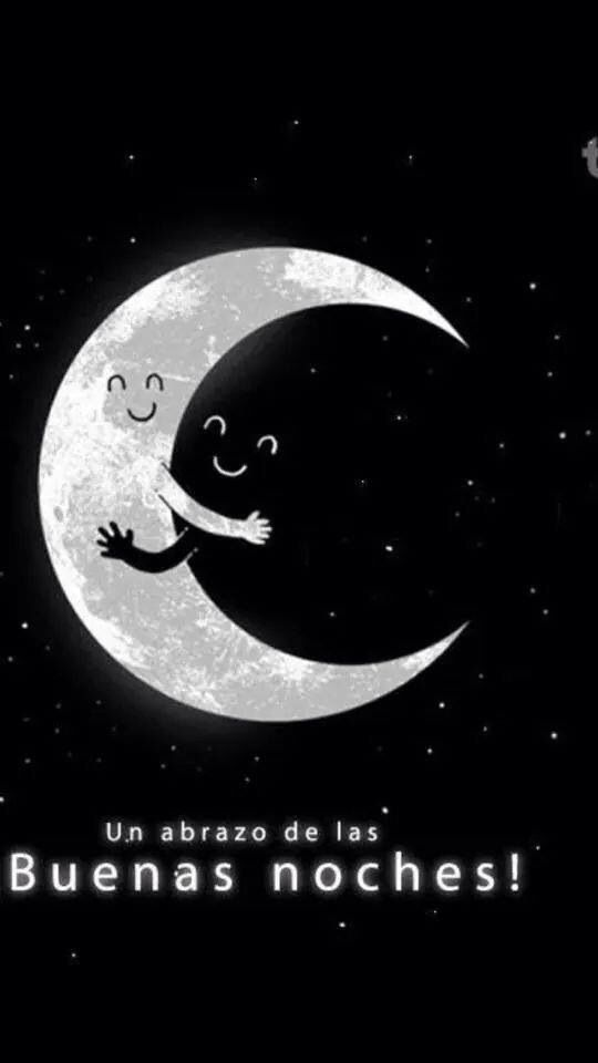 Un abrazo de las buenas noches...