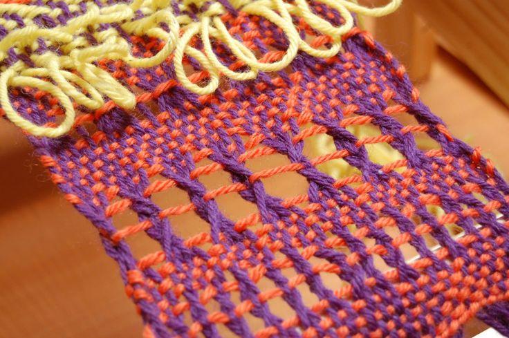 telar decorativo hecho en  telar maria