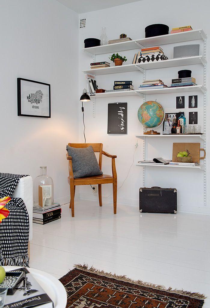 Gothenburg's Exquisite Side: Small Apartment Tastefully Designed
