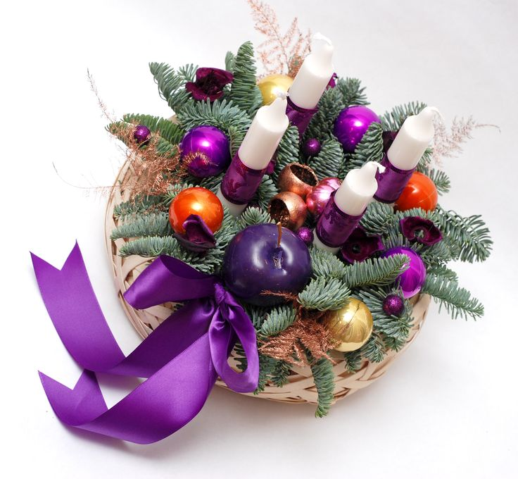 Purple is the new Christmas red