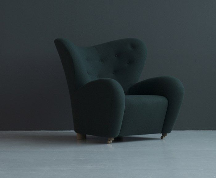 Fred International - Tired Man Armchair By Designer Flemming Lassen - Within The Pages designlibrary.com.au