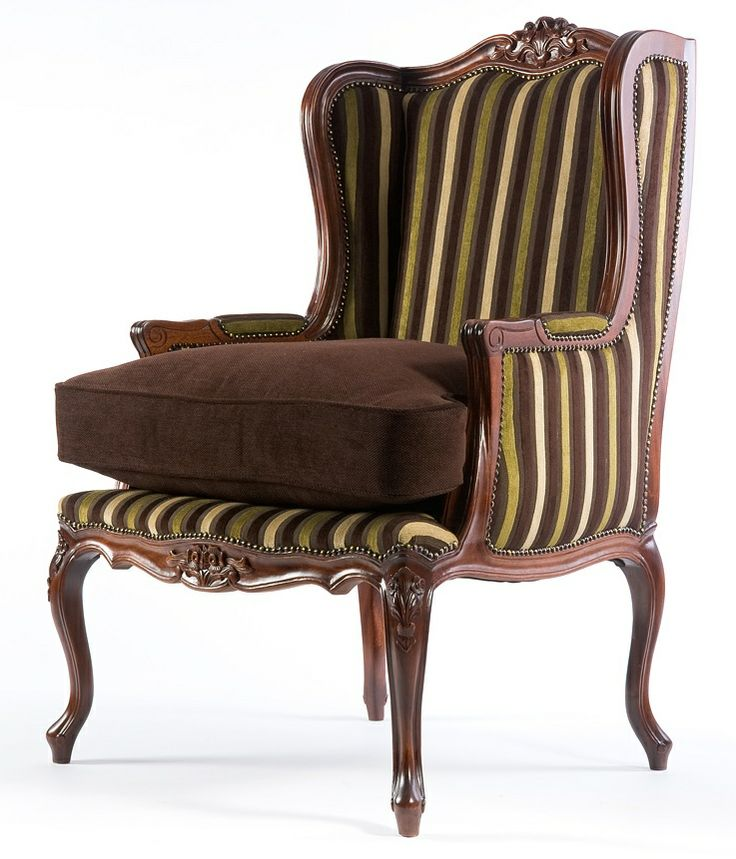 High Back Carved Wing Chair An Early 18th Century Framed Wing Armchair With Floral Carvings