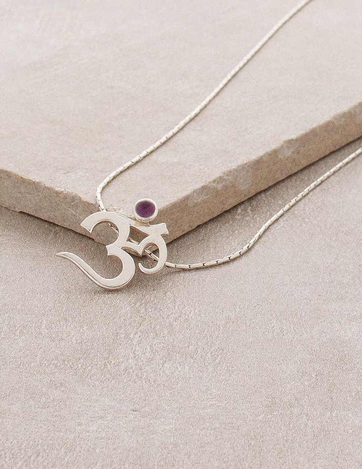 181 best spiritual jewelry images on pinterest spiritual jewelry silver and amethyst om necklace mozeypictures Choice Image