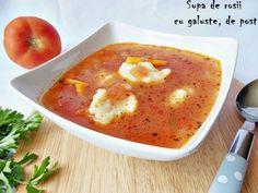 Supa de rosii cu galuste, de post - imagine 1 mare