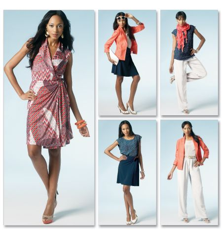 M6519 Pattern Of The Week!  Misses' Unlined Jacket, Top, Dress, Skirt and Pants  Retail Price: $18.95  Our Price: $11.37  Sale Price: $2.99   ClubBMV Price: $2.54   (About ClubBMV): Dress Patterns, Mccalls M6519, Unlined Jacket, Mccalls Outfit, Pants Pattern, Sewing Patterns