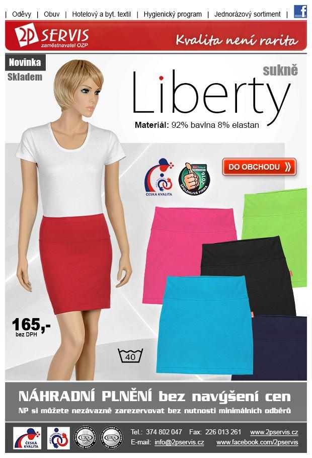 ★ ★Sportovně elegantní krátká sukně Liberty 6 barev ★ ★