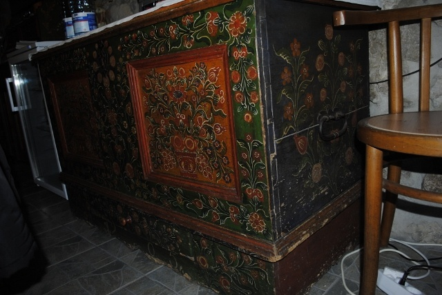 painted furniture from Torockó