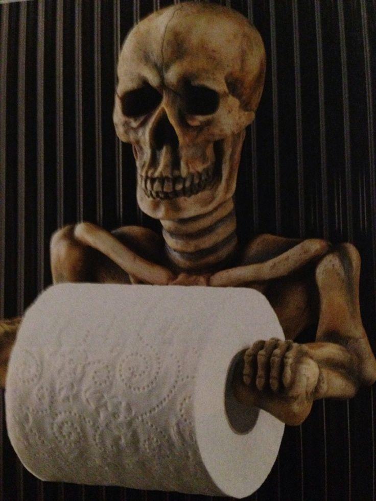 $19.95...Spooky toilet paper holder.