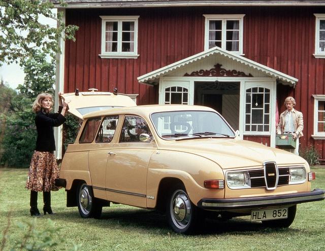 1977 Saab 95 Wagon
