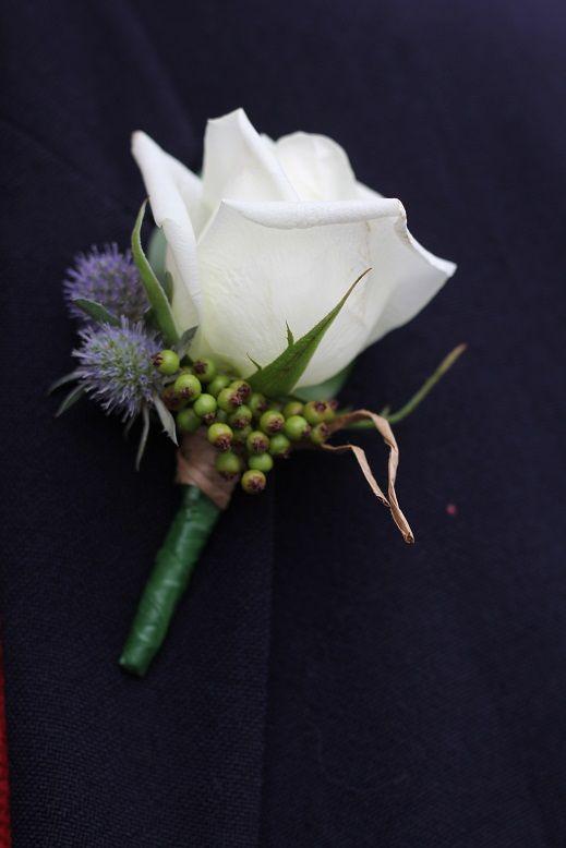 white rose buttonhole http://www.wanakaweddingflowers.co.nz/gallery.php