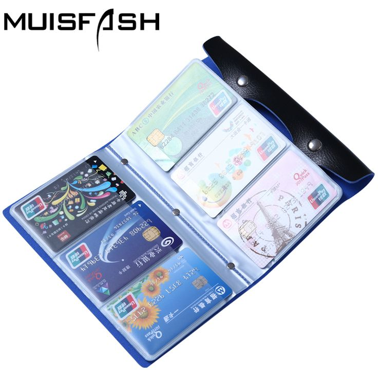 Mode 108 Slots Kreditkarteninhaber Taschen Gute Qualität Leder Bussiness Karten Fall Bank Id Kartenhalter Keeper Heißer Verkauf LS1044