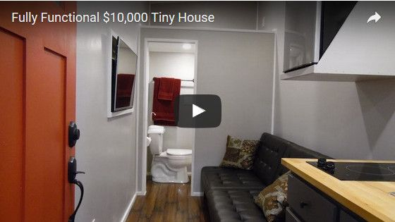 6 Simple Tiny Houses With Great Minimalist Furniture Ideas