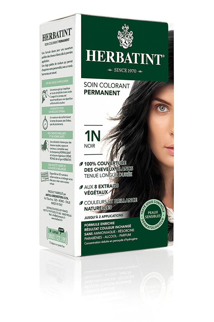Herbatint Hair Dye 1N Black * Want to know more, click on the image.