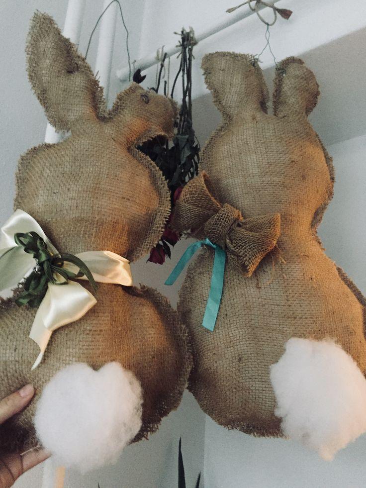 Easter rabbit diy