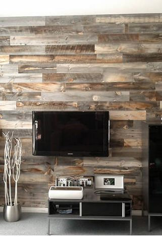 Peel-And-Stick Wood Panels Provide An Instant Reclaimed Look | Fast Company