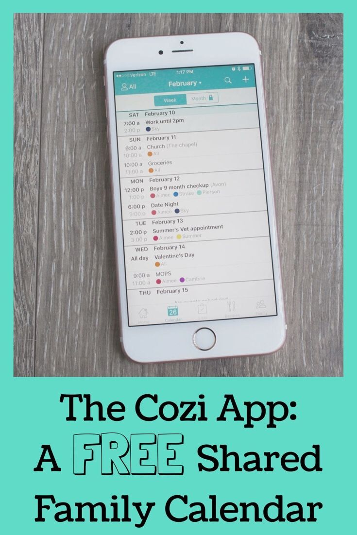 Keep Your Family Organized With The Cozi App All About Family Life