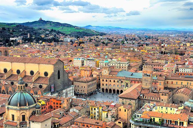 Bologna, Italy.