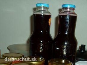Domáci černicový sirup