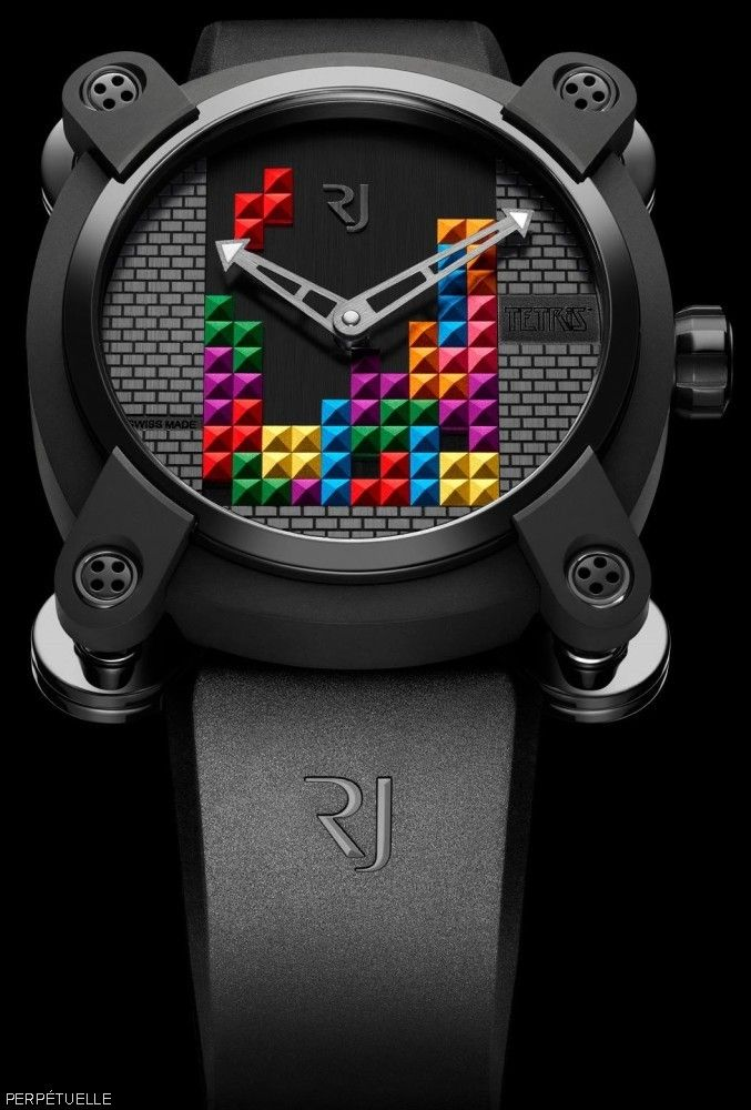 "First Look: The New RJ-Romain Jerome ""Tetris"" Watch | Perpétuelle"