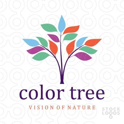 Color Tree logo | StockLogos.com