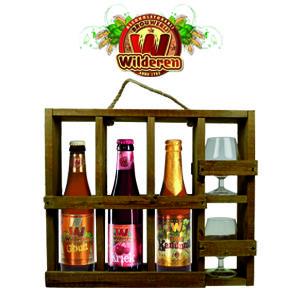 In dit Wilderen Proefrek vindt u drie bieren van brouwerij Wilderen.  – Wilderen Goud 33cl – Wilderen Kriek 33cl – Wilderen Kanunnik 33cl  In de degustatieglazen geniet u van deze heerlijke bieren. www.multicadeau.nl