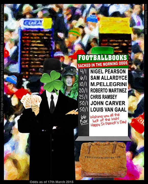 LATEST #EPL Manager Sacked #ODDS #bookmakers #ladbrokes #williamhill #paddypower #betvictor #bet365 #betfred #coral  #boylesports #sportingbet #stanjames #888sport #betway