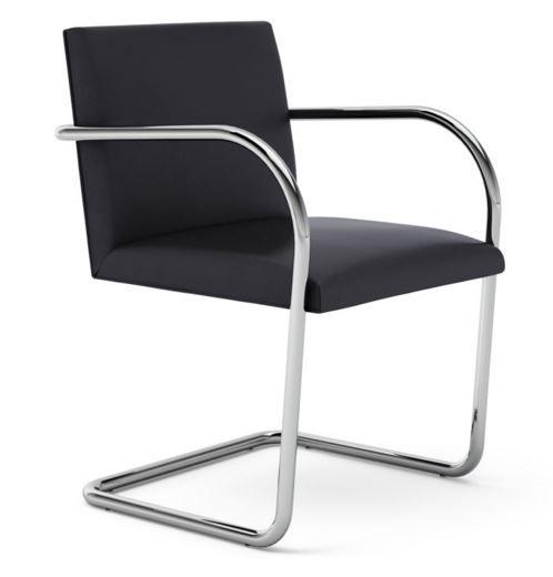 Knoll Mies Van Der Rohe Brno Chair Tubular Frame