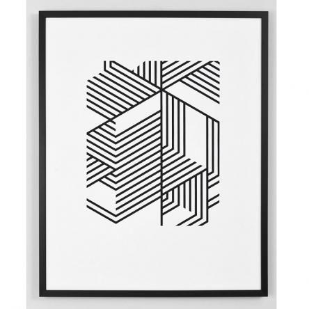 Subtraction | Framed Print
