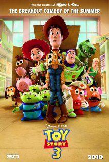 Toy Story 3... Un final de esos tristes pero felices... Me encanta!