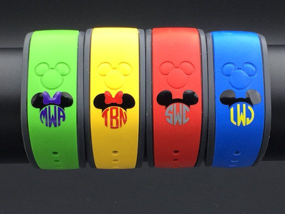 Image result for disney magic band colors 2017