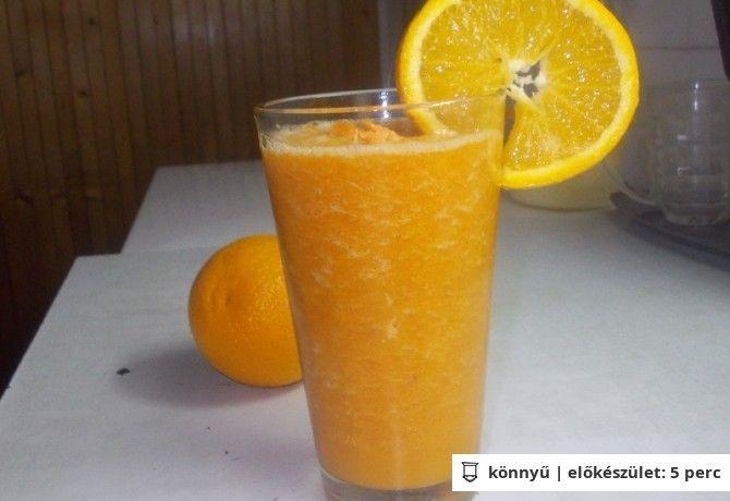 Fahéjas narancsos-répás turmix | NOSALTY