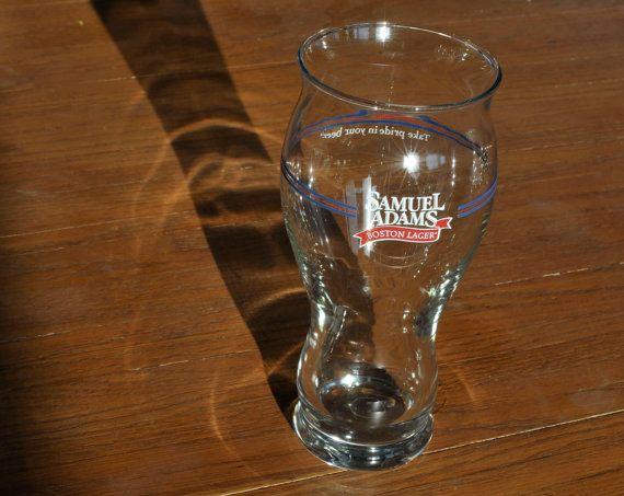 Vintage Samuel Adams Boston Lager  Beer Glass  Take