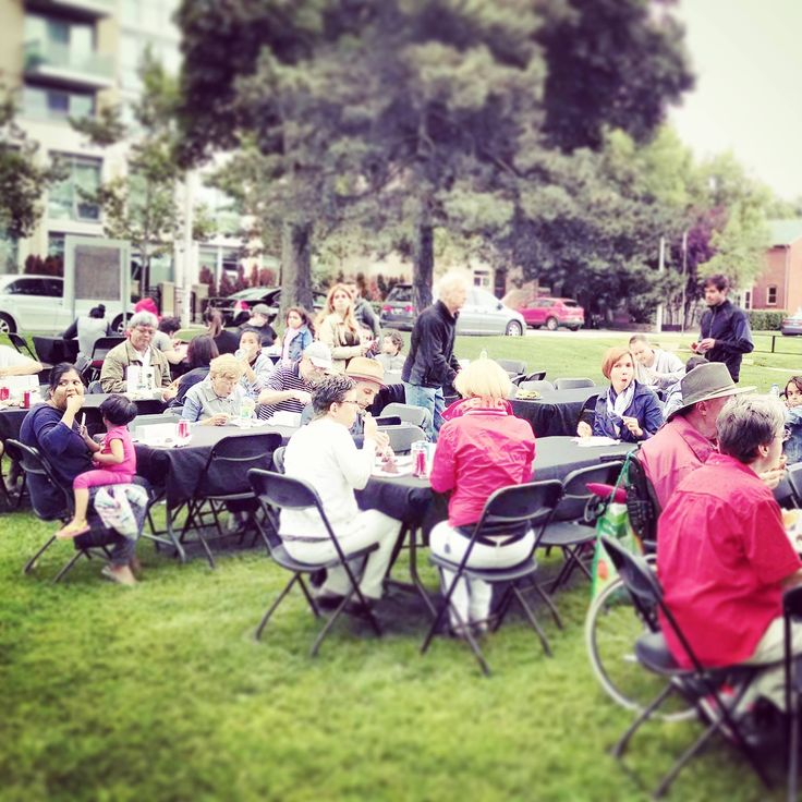 #TBT to our Resident #Appreciation #BBQParty at #TheTorontonian! Warm weather and fun events are coming, we promise.