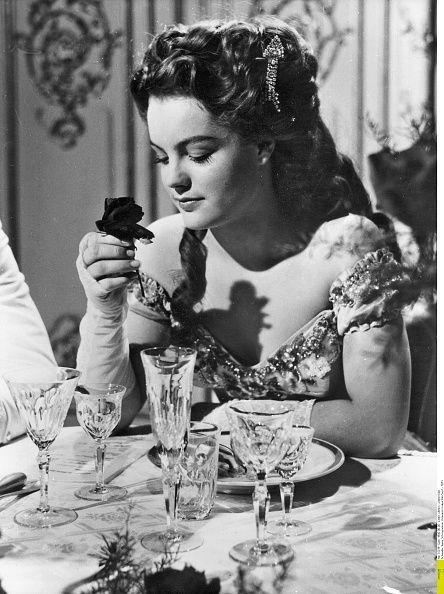 Schneider Romy Actress Germany * Scene from the movie 'Sissi' Directed by Ernst Marischka Austria 1955 Vintage property of ullstein bild