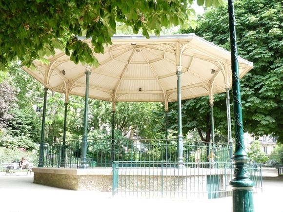The pavilion in the parc next to where we live