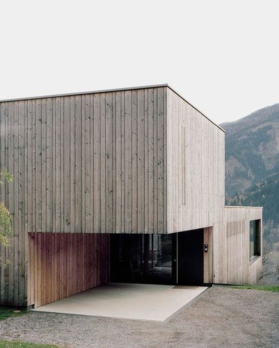 Bechter Zaffignani Architekten — Single Family Home Upper-Inn Valley
