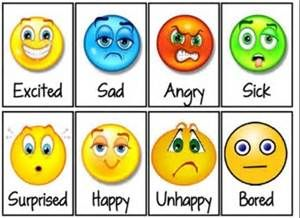 Refreshing image inside free printable emotion faces