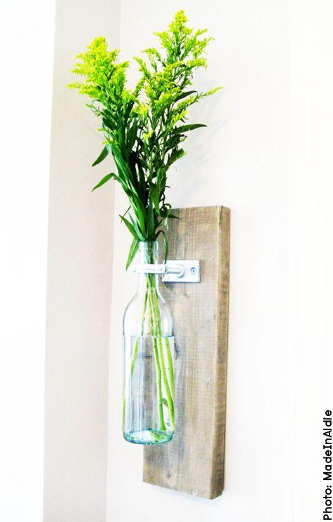 Wine Wall Vase