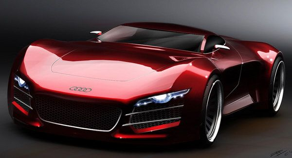 Audi R10 V10 Supercar: Impressive Concept Study by Design Student | Super Cars
