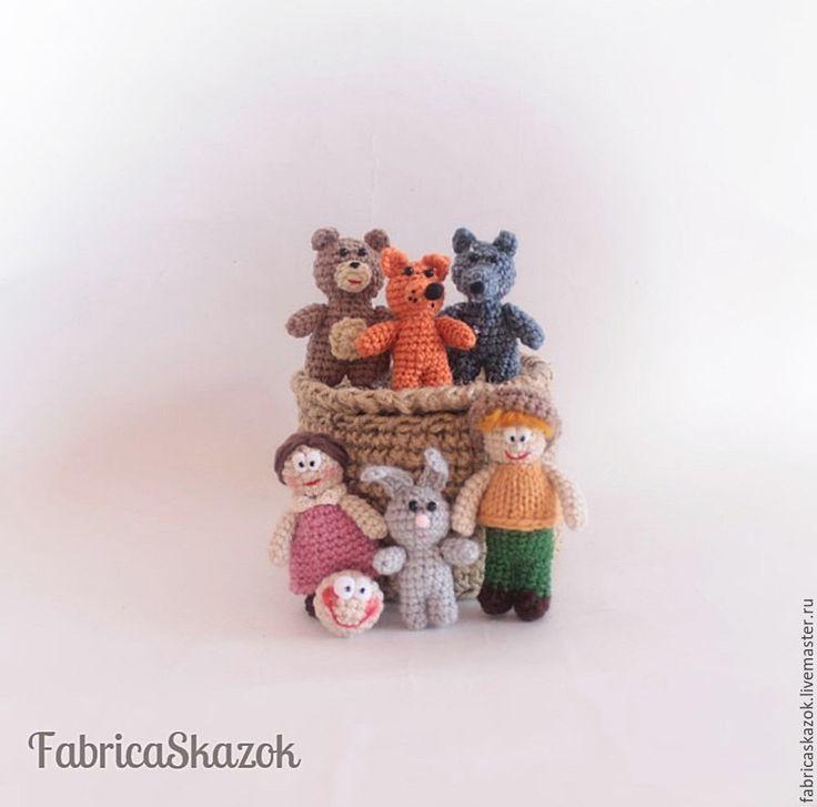 Купить Сказка Колобок игрушка для ребенка . Игровой набор миниатюр - сказка, сказочный персонаж