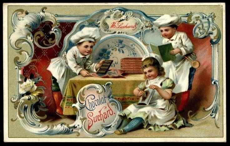 https://flic.kr/p/brToq3 | Suchard - Children & Kitchen Scenes #4 | Suchard Chocolate c1898